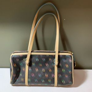 Dooney & Bourke Womens DB Initial Shoulder Bag